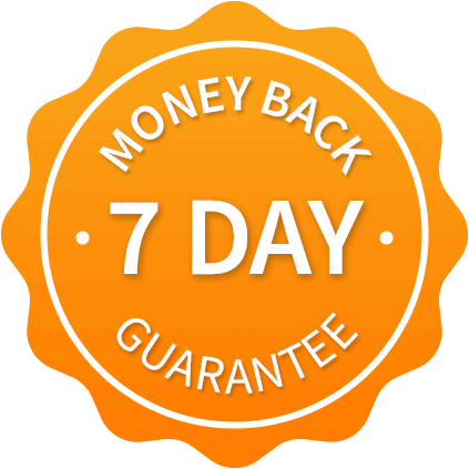 7 day guarantee badge