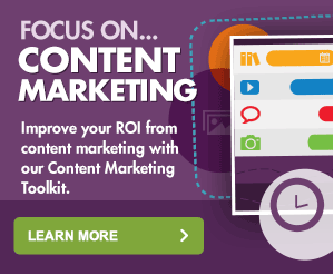 Focus on content marketing