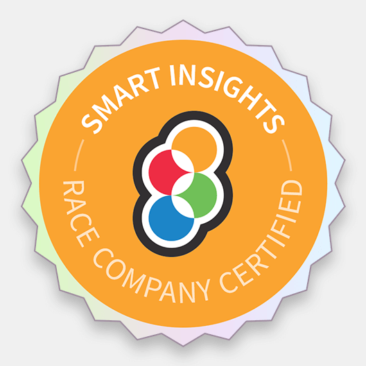 RACE company certified badge graphic