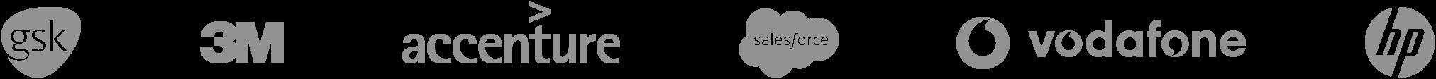 Partner company logos