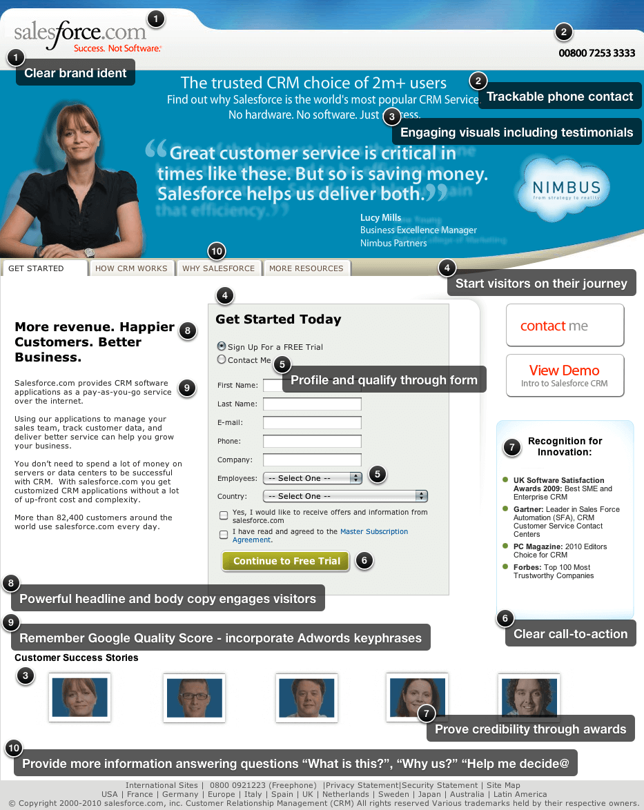 The Perfect Landing Page Landing Page Examples And 12