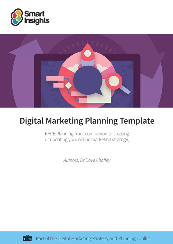 Free digital marketing plan template - Smart Insights