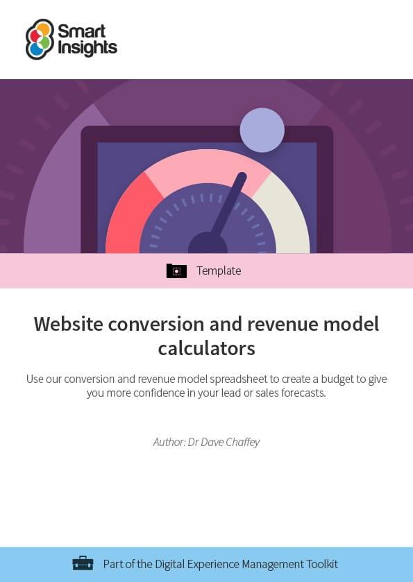 Website conversion and revenue model calculators | Smart
