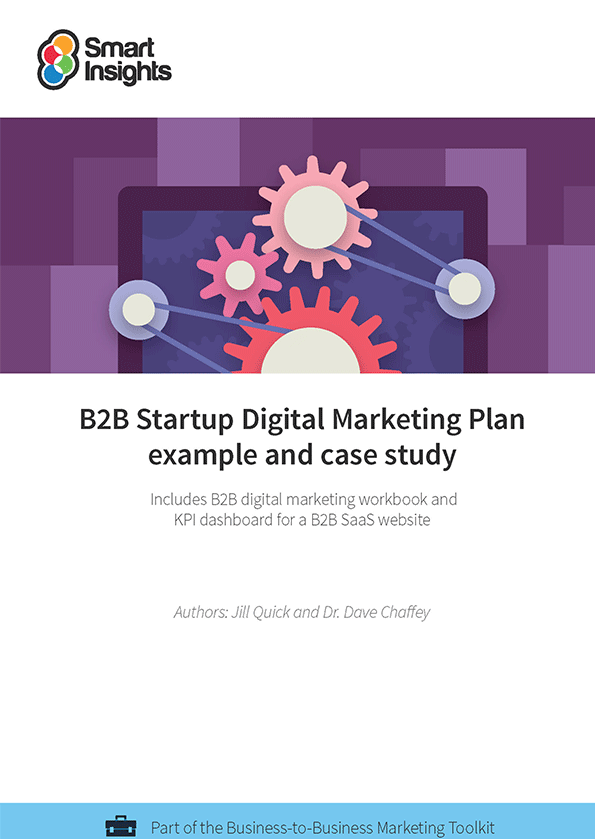 B2b startup digital marketing plan example and case study smart login here look inside the b2b startup digital marketing plan example flashek Images
