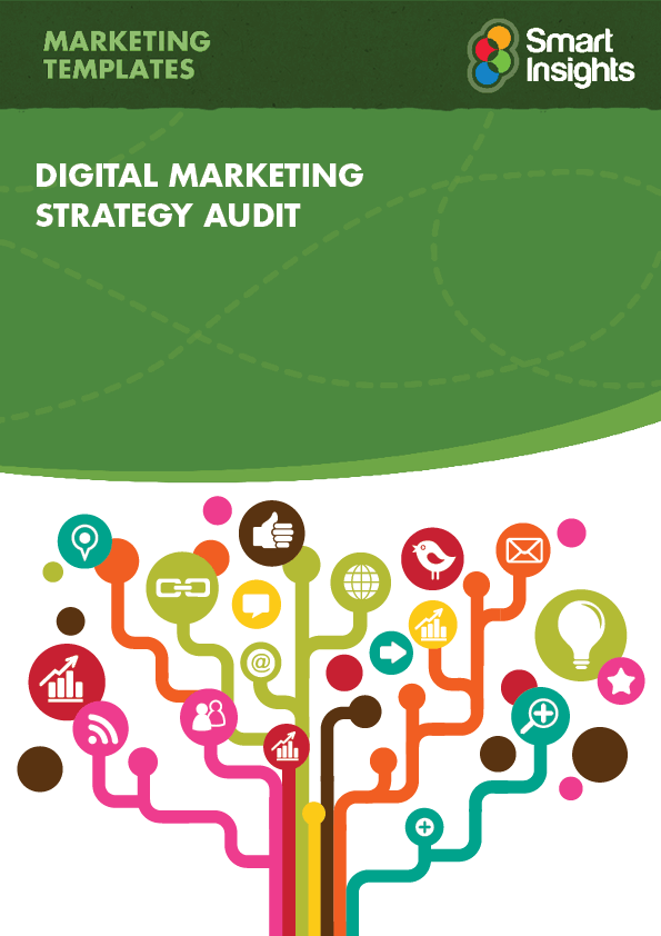 digital marketing strategy audit healthcheck smart insights