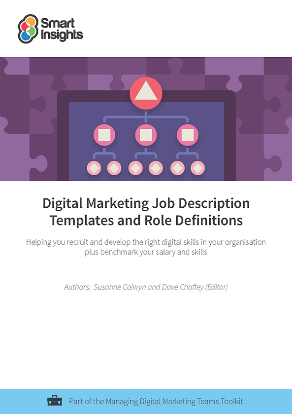Digital marketing Job Description Templates and Role Definition – Marketing Job Description