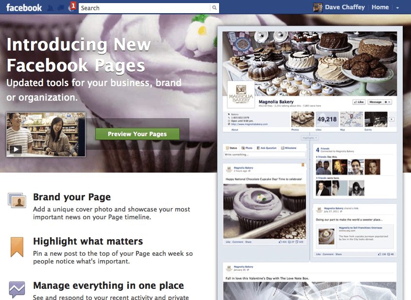 The new Facebook business timeline pages - what's missing and ...