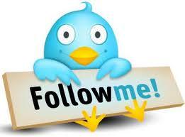 Twitter 'follow me'