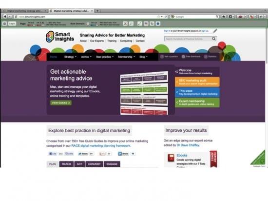 MozBar SEO tool from SEOMoz