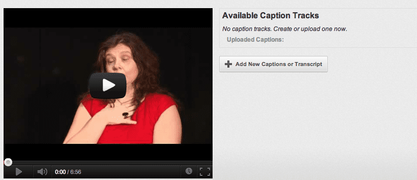 Closed captioning for improved video SEO