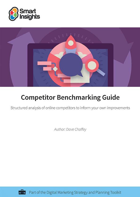 Competitor benchmarking guide smart insights login here look inside fandeluxe Choice Image