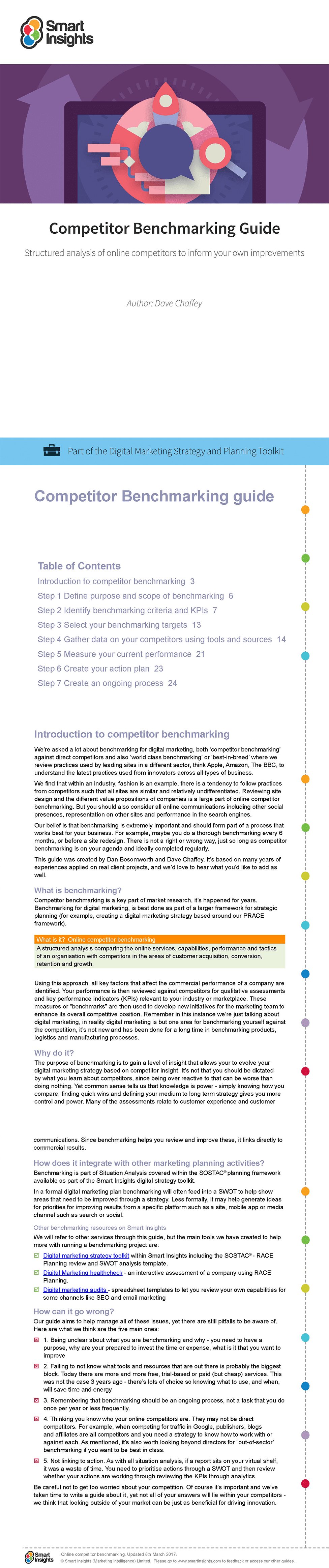 Competitor benchmarking guide smart insights part of the digital marketing strategy and planning toolkit learn more fandeluxe Choice Image