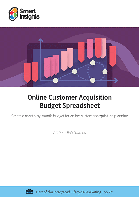 login here look inside the online customer acquisition budget