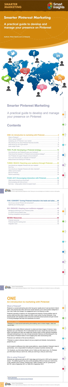 Smarter Pinterest marketing guide