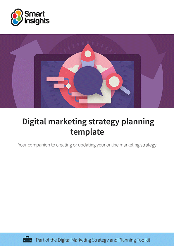 Digital marketing plan example smart insights accmission Choice Image
