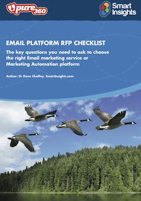 email-marketing-rfp-checklist