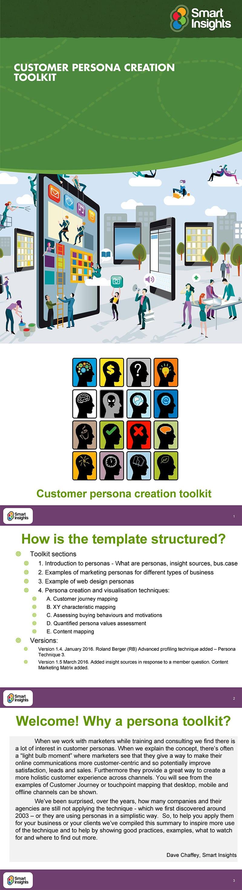 Customer persona guide