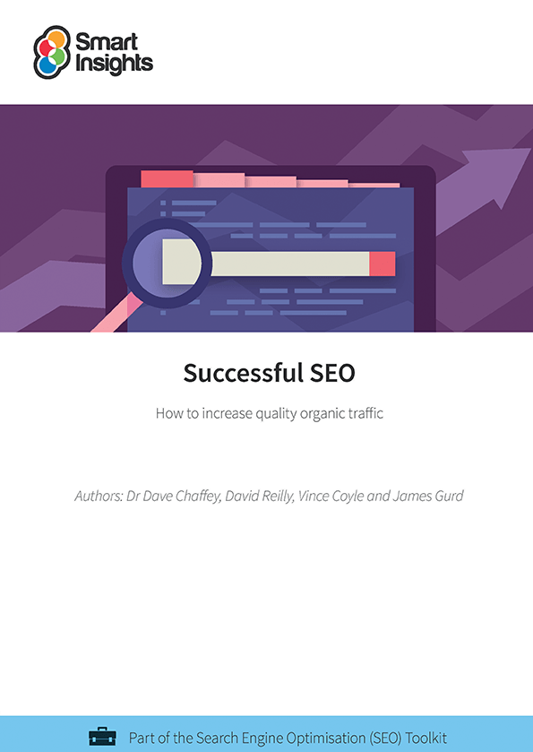 Successful SEO guide - Smart Insights Digital Marketing Advice