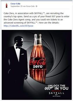 coca cola skyfall