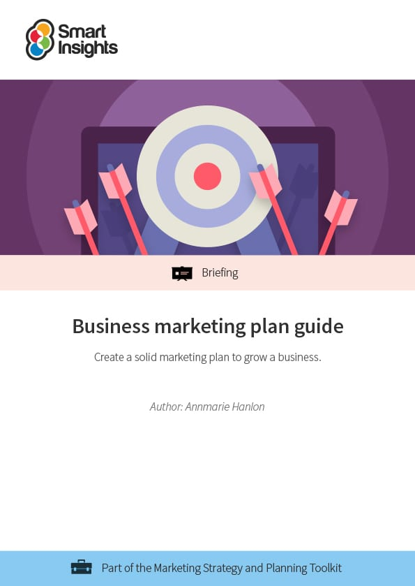 business marketing plan guide smart insights