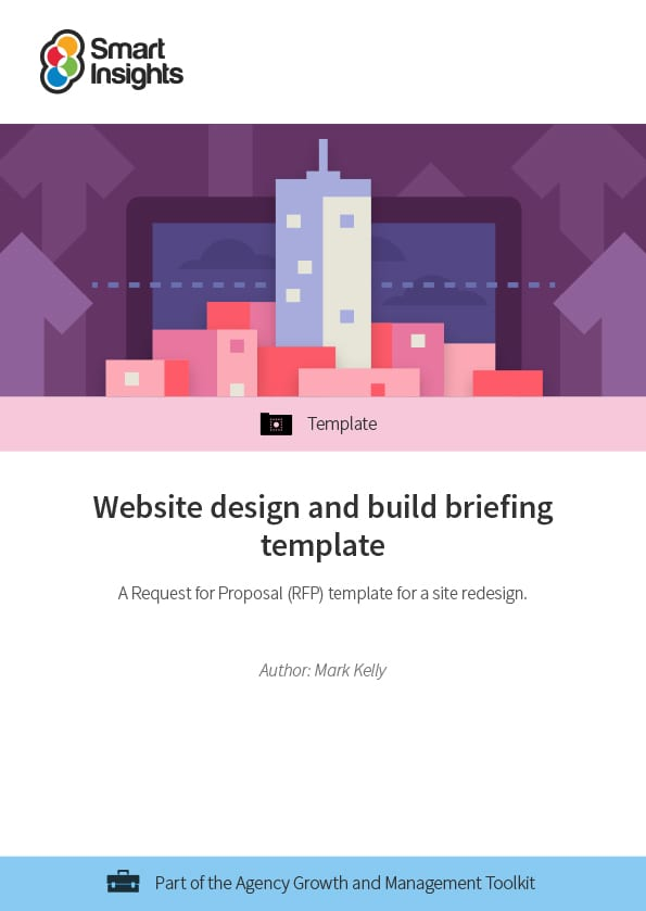 Website Design And Build Briefing Template Smart Insights