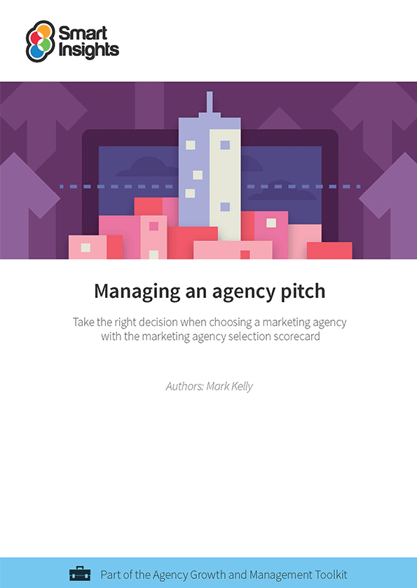Managing an agency pitch marketing agency selection for Advertising agency pitch