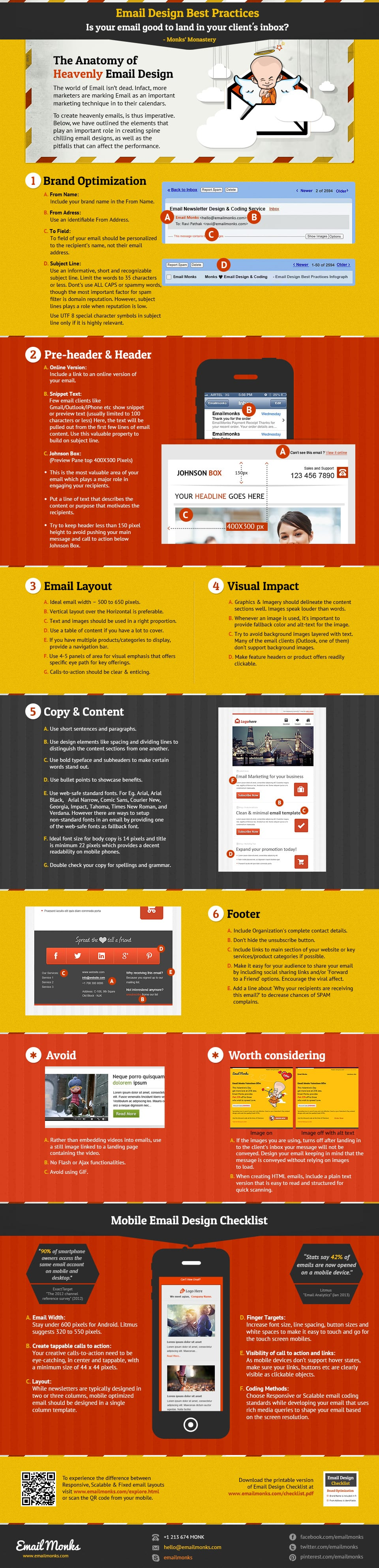 email design best practices infographic smart insights. Black Bedroom Furniture Sets. Home Design Ideas