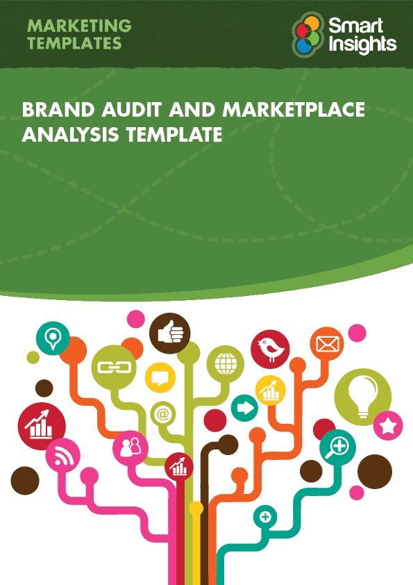 Brand audit and marketplace analysis template smart for Brand assessment template