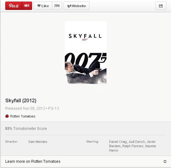 007skyfallrottentomatespinterestmoviepin