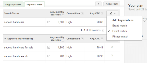 keyword-planner-match-types
