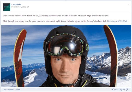 Crystal Ski Facebook Survey