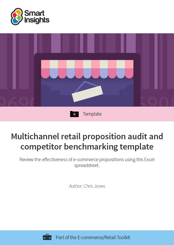 multichannel retail proposition audit and competitor benchmarking
