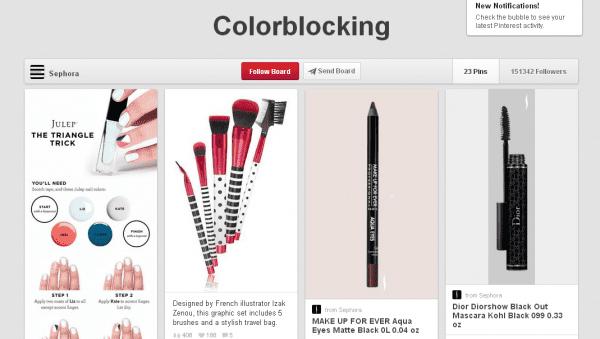 sephoracolorblockingpinterest