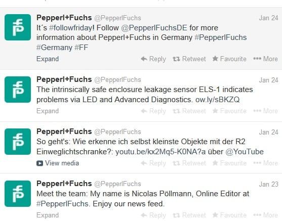 PepperlFuchs Twitter