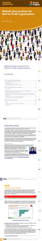 Website practices for charities