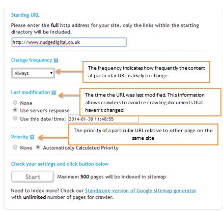 XML Sitamap Generator