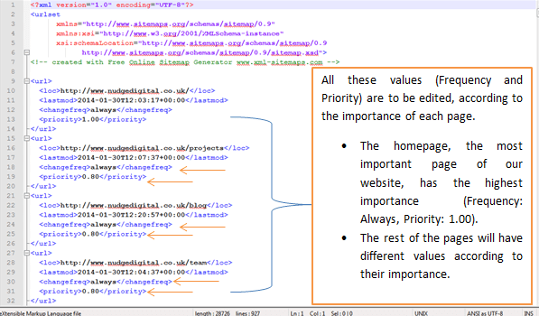 how to create an xml sitemap smart insights