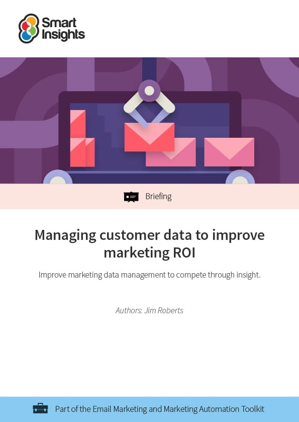 Managing customer data to improve marketing ROI featured image