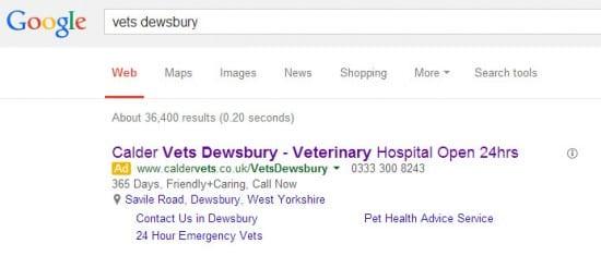 vets dewsbury