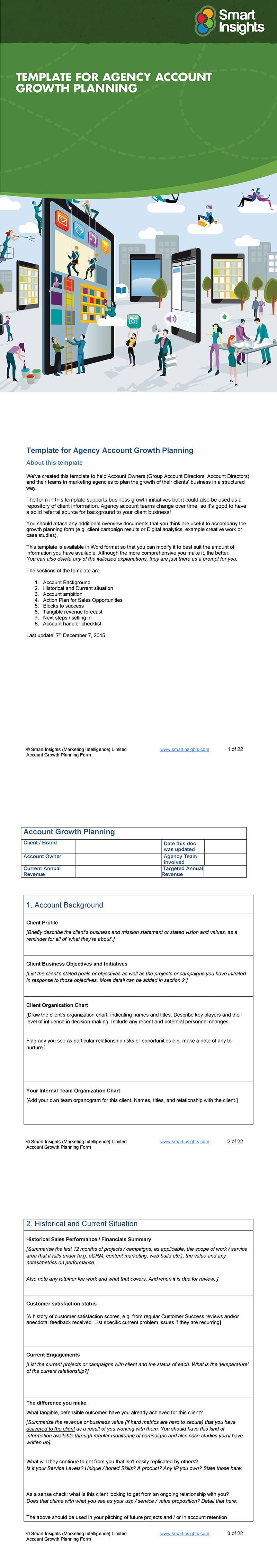 Template for Agency Account Growth Planning
