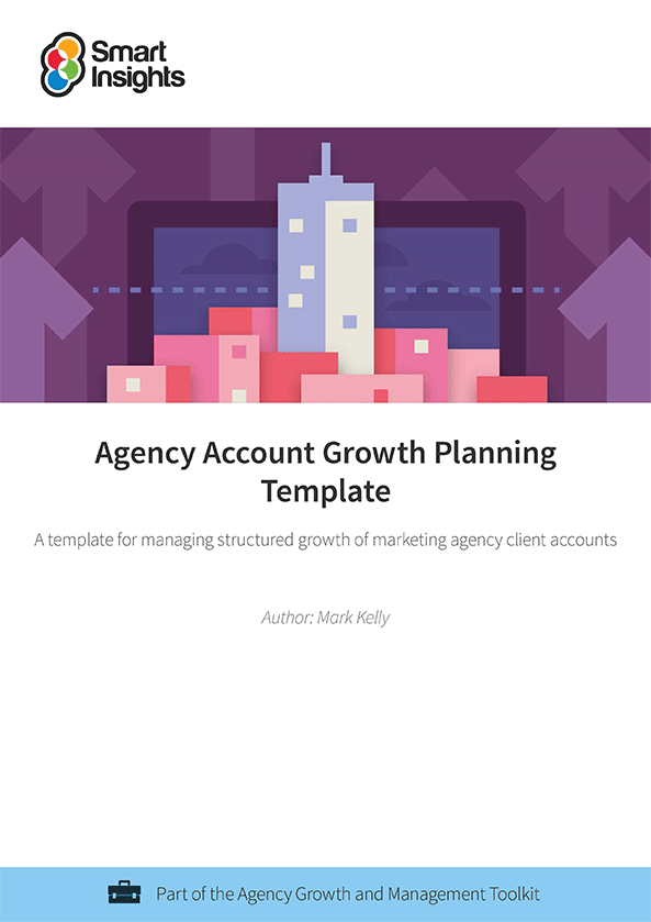 Agency Account Growth Planning Template | Smart Insights
