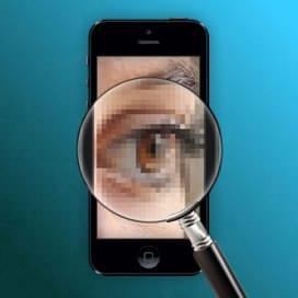 eye-phone retina