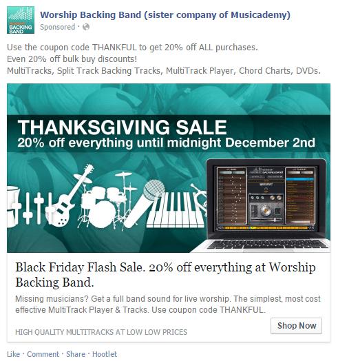 WBB thanksgiving ad