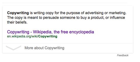 copywritinggoogle