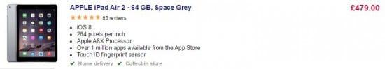 4Cs_Apple ipad via currys