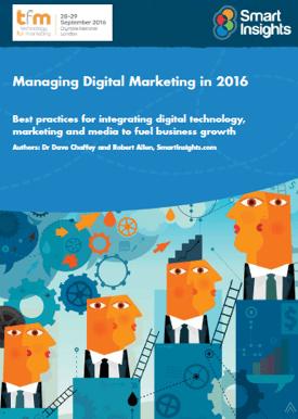 Managing Digital Marketing 2016