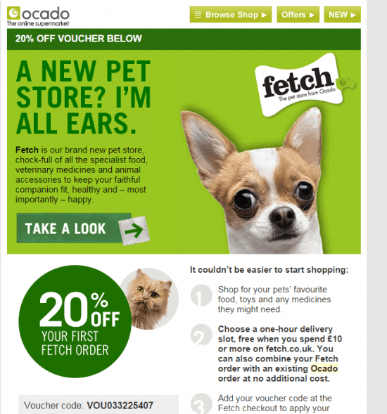 Ocado Fetch