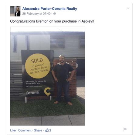 alexandra porter-coronis_reality social media post