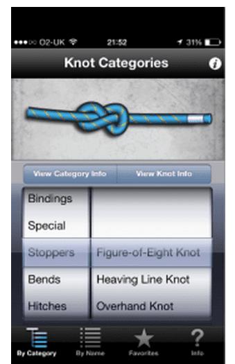 Columbia knot app