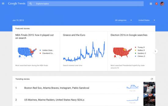 Google Trends updated - Smart Insights Digital Marketing